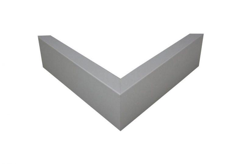 Aluminio plateado